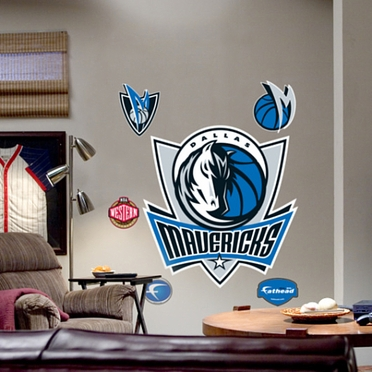 Dallas Mavericks Logo Fathead Wall Graphic