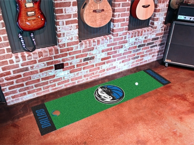 Dallas Mavericks Putting Green Mat