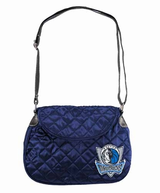 Dallas Mavericks Quilted Saddlebag