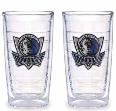 Dallas Mavericks Set of TWO 16 oz. Tervis Tumblers