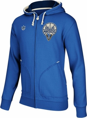 Dallas Mavericks Springfield Vintage Full Zip Hooded Sweatshirt