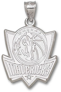 Dallas Mavericks Sterling Silver Pendant