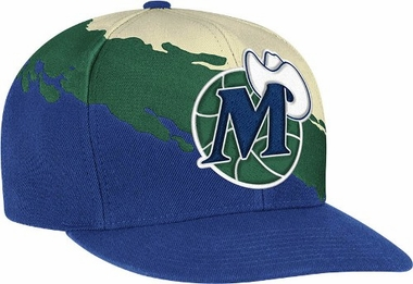 Dallas Mavericks Vintage Paintbrush Snap Back Hat