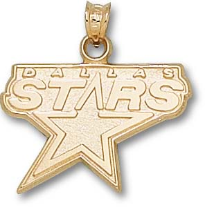 Dallas Stars 10K Gold Pendant