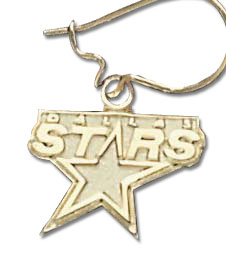 Dallas Stars 10K Gold Post or Dangle Earrings
