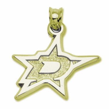 Dallas Stars 14K Gold Pendant