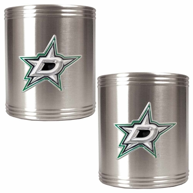 Dallas Stars 2 Can Holder Set