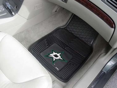 Dallas Stars 2 Piece Heavy Duty Vinyl Car Mats