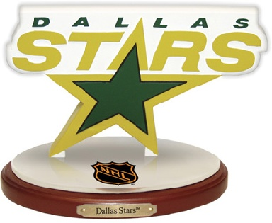 Dallas Stars 3D Logo
