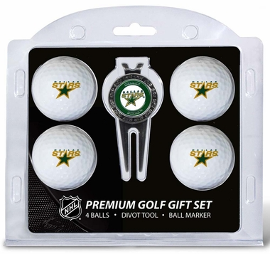 Dallas Stars 4 Ball and Divot Tool Set