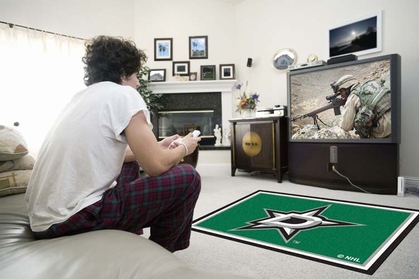 Dallas Stars 4 Foot x 6 Foot Rug