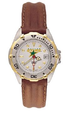 Dallas Stars All Star Womens (Leather Band) Watch