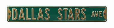 Dallas Stars Ave Street Sign