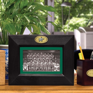 Dallas Stars BLACK Landscape Picture Frame