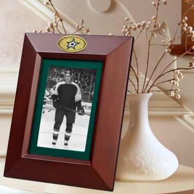 Dallas Stars BROWN Portrait Picture Frame