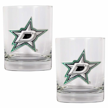 Dallas Stars Double Rocks Set