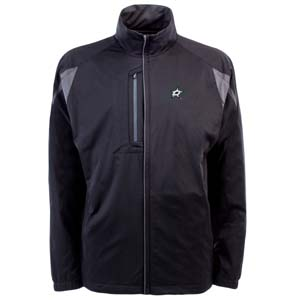 Dallas Stars Mens Highland Water Resistant Jacket (Team Color: Black) - Medium