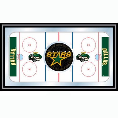 Dallas Stars Hockey Bar Mirror