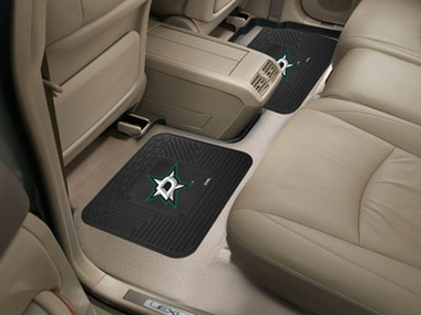 Dallas Stars SET OF 2 Heavy Duty Vinyl Rear Car Mats