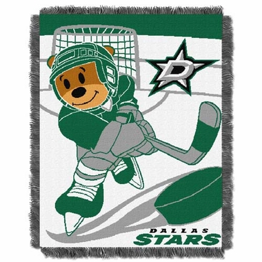 Dallas Stars Jacquard BABY Throw Blanket