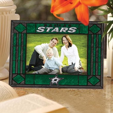 Dallas Stars Landscape Art Glass Picture Frame
