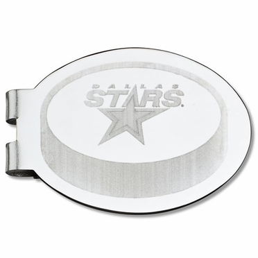 Dallas Stars Laser Engraved Money Clip