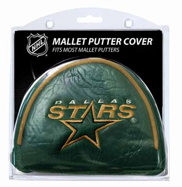 Dallas Stars Mallet Putter Cover