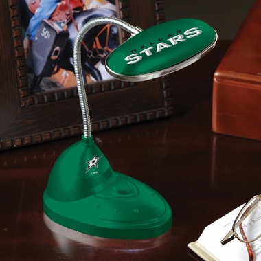 Dallas Stars Mini LED Desk Lamp
