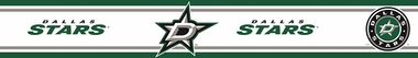 Dallas Stars Peel and Stick Wallpaper Border