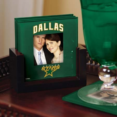 Dallas Stars Photo Coaster Set