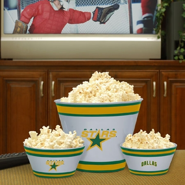 Dallas Stars Plastic Serving Set