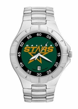 Dallas Stars Pro II Men's Stainless Steel Watch