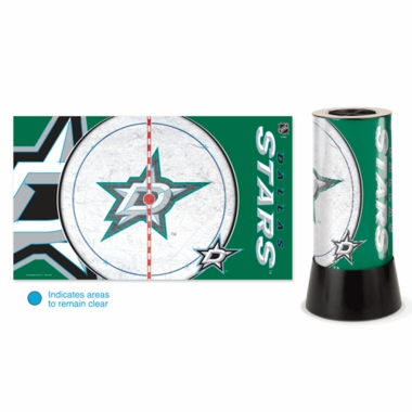 Dallas Stars Rotating Lamp