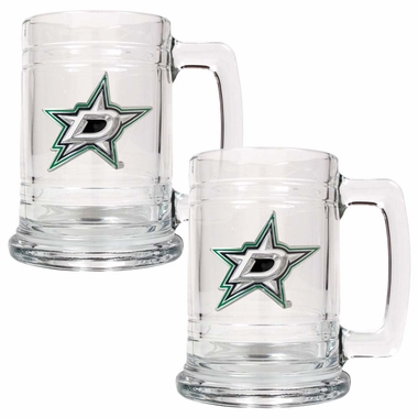 Dallas Stars Set of 2 15 oz. Tankards