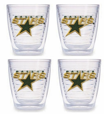 Dallas Stars Set of FOUR 12 oz. Tervis Tumblers
