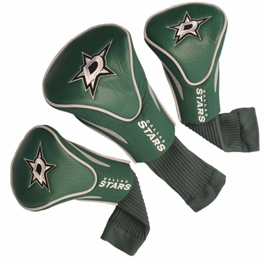 Dallas Stars Set of Three Contour Headcovers