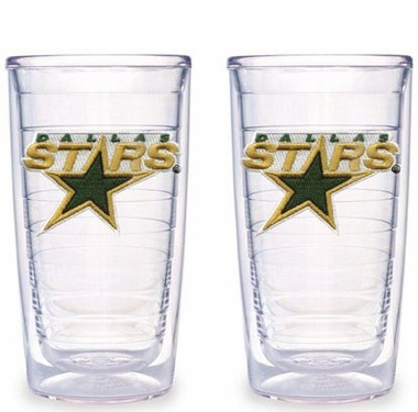 Dallas Stars Set of TWO 16 oz. Tervis Tumblers