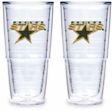 "Dallas Stars Set of TWO 24 oz. ""Big T"" Tervis Tumblers"