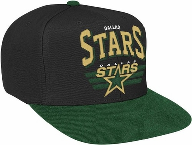 Dallas Stars Stadium Throwback Snapback Hat