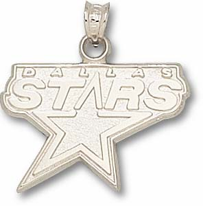 Dallas Stars Sterling Silver Pendant