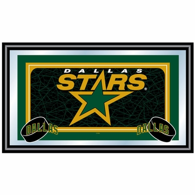 Dallas Stars Team Logo Bar Mirror