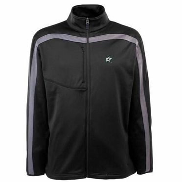 Dallas Stars Mens Viper Full Zip Performance Jacket (Team Color: Black)