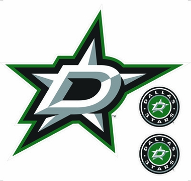 Dallas Stars Wallmarx Large Wall Decal