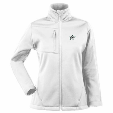 Dallas Stars Womens Traverse Jacket (Color: White)