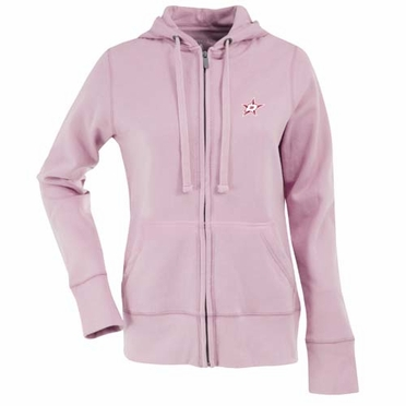Dallas Stars Womens Zip Front Hoody Sweatshirt (Color: Pink)