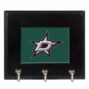 Dallas Stars Wooden Keyhook Rack