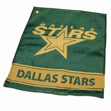 Dallas Stars Woven Golf Towel