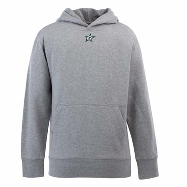 Dallas Stars YOUTH Boys Signature Hooded Sweatshirt (Color: Gray)