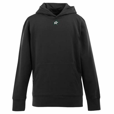 Dallas Stars YOUTH Boys Signature Hooded Sweatshirt (Team Color: Black)