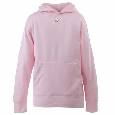 Dallas Stars YOUTH Girls Signature Hooded Sweatshirt (Color: Pink)